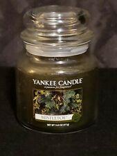 Yankee Candle Mistletoe Green Jar Candle 14.5oz