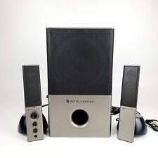 Altec Lansing VS4121 2.1 Computer Speaker Sound System Audio Tested
