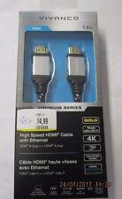 Vivanco HighSpeed HDMI Kabel mit Ethernet  1,2 m  TV Video Audio  ( Me1)