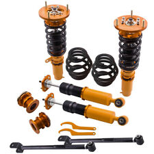 COILOVER SUSPENSION Kits Coupe Saloon for BMW 3-SERIES E46 98-06 + Control Arms