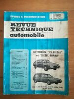 REVUE TECHNIQUE AUTOMOBILE Citroën CX Diesel et turbo diesel