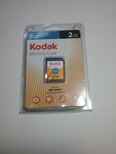 Vintage Computer, KODAK SD MEMORY CARD, 2GB, Digital Camera Picture Storage