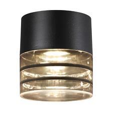 Design Plafonnier Momento GU10 noir IP44 Lampe d'extérieur plafonnier 871223