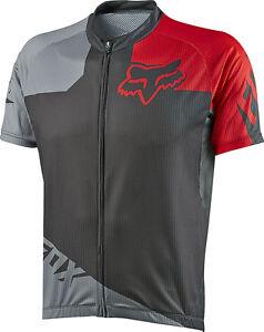 Fox Racing Livewire Race s/s Jersey Grey/Red