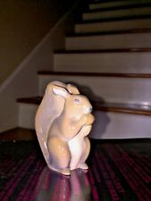 Antique Royal Copenhagen Denmark Squirrel Porcelain Figurine Rare & Nut # 982