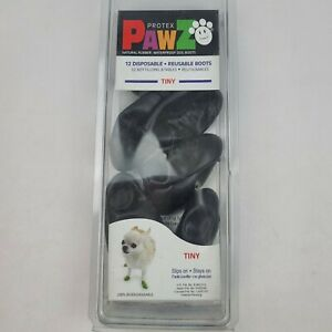 Protex Paws waterproof dog boots set of 10Size tiny paws up to 1""
