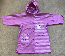 Hello Kitty Girls Waterproof Coat Size 4 Years