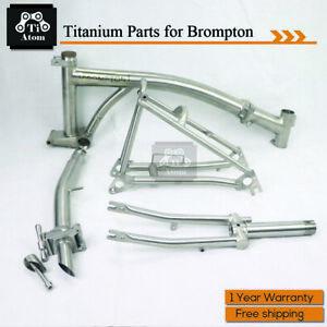 Ti Atom/ Titanium Folding bike parts for Brompton