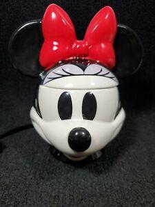 Scentsy Minnie Mouse Wax Warmer ~ New Style Disney Head Mickey Warmer-
