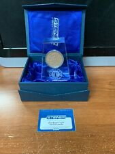 Steiner Texas Rangers Crystal With Game-Used Dirt