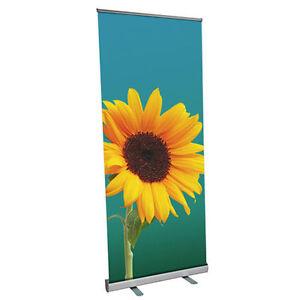 Rollup Display Premium - ohne Druck 85 x 200 cm - Roll Up mit Klemmleiste