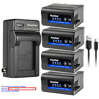 Kastar NP-F980 Battery Wall Charger for Sony NP-F970 NP-F950 NP-F960 CCD-TRV101