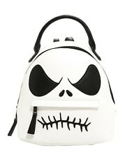 Disney Nightmare Before Christmas Jack Skellington Face Mini Backpack NWT