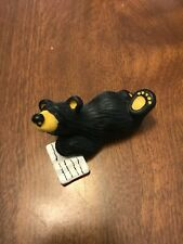 "Retired ""BearFoots"" Bears by Jeff Fleming: Bear on floor reading"