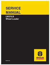 New Holland Wheel Loader LW270.B Service Manual