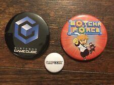 Gotcha Force/CAPCOM COLLECTOR'S spille, Bottoni Distintivo, NUOVO! Nintendo Gamecube