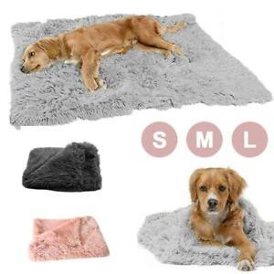 Puppy Blanket Pet Soft Fluffy Mattress Cosy Warm Dog Cat Bed Sleep Mats