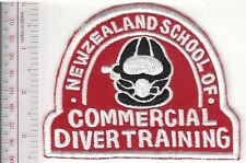 SCUBA Hard Hat Diving New Zealand School of Commercial Diver Training red