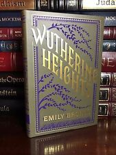 Wuthering Heights by Emily Bronte Brand New Leather Bound Collectible Gift