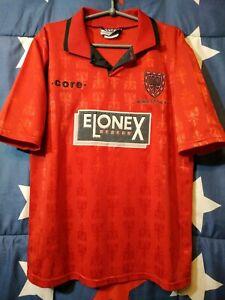 SIZE M Wimbledon 1995-1996 Away Football Shirt Jersey Core