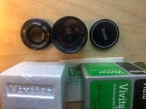 Vivitar 35mm f2.5 TX Mount Lens w/Minolta Adapter MINT