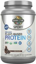 Sport Organic Plant-Based Protein, Garden of Life, 38 servings Chocolate