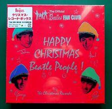 "THE BEATLES ""The Christmas Records"" JAPANESE 7 x 7"" 45 Vinyl BOX SET UIKY-75041"