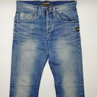 G-Star Attacc Straight 50566 W32 L34 blau blue Herren Men Designer Denim Jeans
