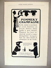Pommery Champagne PRINT AD - 1903 ~ Charles Graef