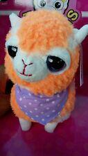 "5.75"" alpacas Plush HOT TOPIC New color orange single male alpaca !!!"