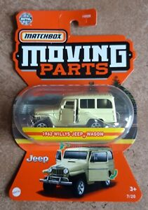 2021 Matchbox Moving Parts 1962 Willys Jeep Wagon