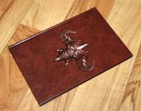 2008 Paris Blizzard Worldwide Invitational Rare Notebook Diablo Starcraft WOW