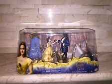 DISNEYS BEAUTY AND THE BEAST ENCHANTED FIGURINE SET OR CAKETOPPER