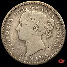1883H Canada 10 Cents - VG/F - Lot#1559P