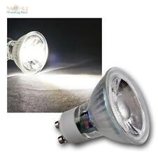 10 x gu10 lámparas LED, 3w cob frío blanco 250lm, emisor pera spot reflector