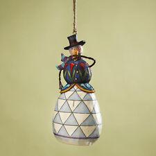 Jim Shore Snowman With Pipe Ornament 4017602 NIB