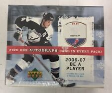 2006-07 Upper Deck Be a Player Signature Hockey Hobby Box Factory Sealed