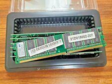PQI DDR-400 256MB 21D018002-207 0110-06A1 MDAD-306HA RAM Memory