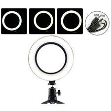 6'' USB LED Selfie Ring Light Studio Photography Makeup Lamps Fill  ykJCAU