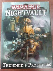 Warhammer Nightvault Thundriks Profiteers Kharadron Overlords - New And Sealed
