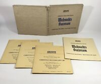 "Bach(3x12"" Vinyl LP Box Set)Weihnachts Oratorium-Archive -1955 - 1956"