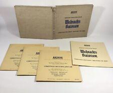"""Bach(3x12"""" Vinyl LP Box Set)Weihnachts Oratorium-Archive -1955 - 1956"""