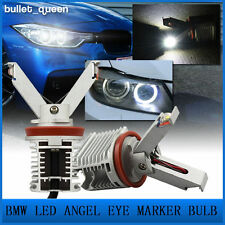 40W Total BMW H8 CREE LED Angel Eye Halo Marker Light Bulb for E60 E90 E92 X5 X6