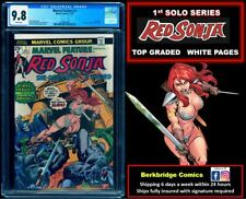 🔥 MARVEL FEATURE RED SONJA #1 CGC 9.8 WHITE PAGES 🔥 $1 SHIPPING W ANY CONAN 23