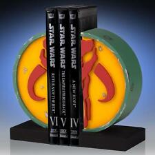 STAR WARS GENTLE GIANT Official MANDALORIAN BOOKENDS Statue SET Limited Edition
