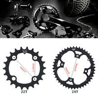 22T/44T Mountain Road Bicycle BCD 104mm Chainring For Shimano 9 Speed Crank SD