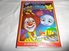 El Club De Tito El Vaje a Pluton El Nuevo DVD De Tito New Spanish Clown DVD