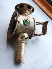 lampe à bougie de vélo ancienne - lanterne à acétylène bicyclette old cycle lamp