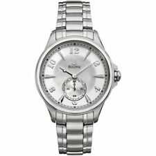 Bulova Dress/Formal Stainless Steel Case Analogue Watches