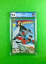 Superboy #9 (1994): CGC 9.6!  1st Full Appearance King Shark (Suicide Squad)!